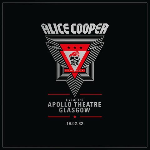 Cooper, Alice/Live At The Apollo Theater Glasgow 19/02/82 [LP]
