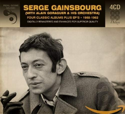 Gainsbourg, Serge/Four Classic Albums [CD]