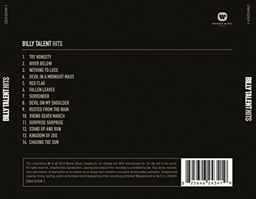 Billy Talent/Hits [CD]
