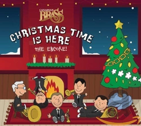 Canadian Brass/Christmas Time Is Here [CD]