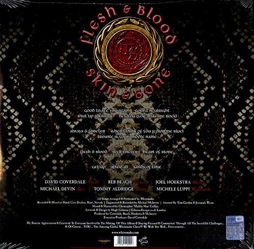 Whitesnake/Flesh and Blood (2LP) [LP]