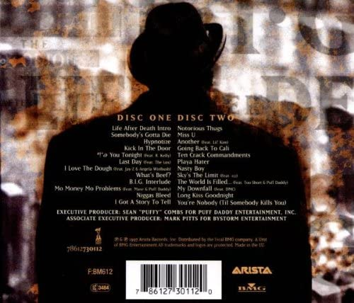 Notorious B.I.G./Life After Death [CD]