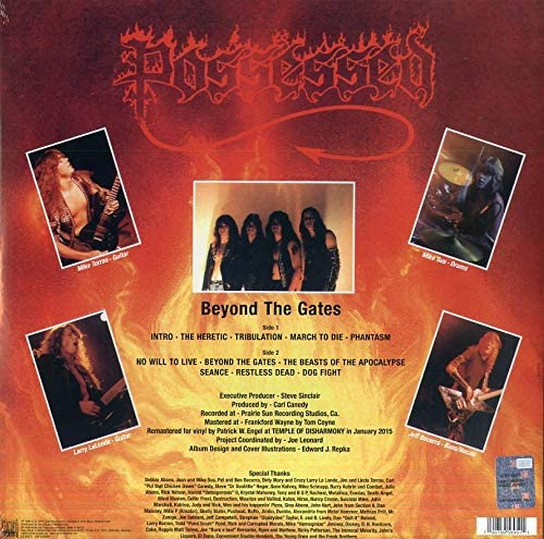 Possessed/Beyond The Gates [LP]