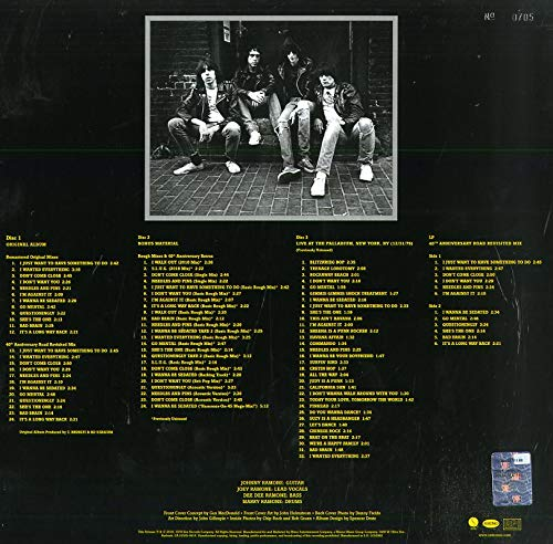 Ramones/Road To Ruin - 40th Anniversary Deluxe [CD]
