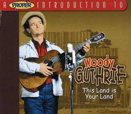 Guthrie, Woody/A Proper Introduction To [CD]