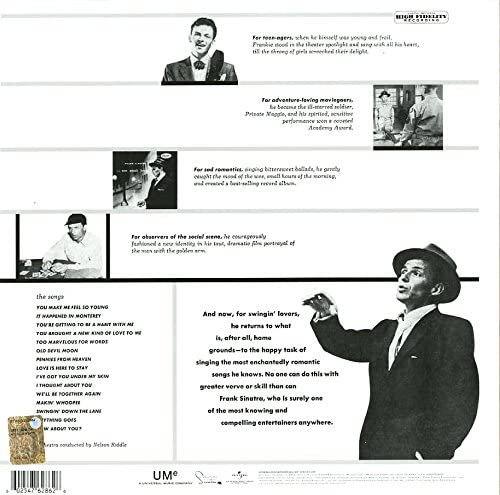 Sinatra, Frank/Songs For Swingin' Lovers [LP]