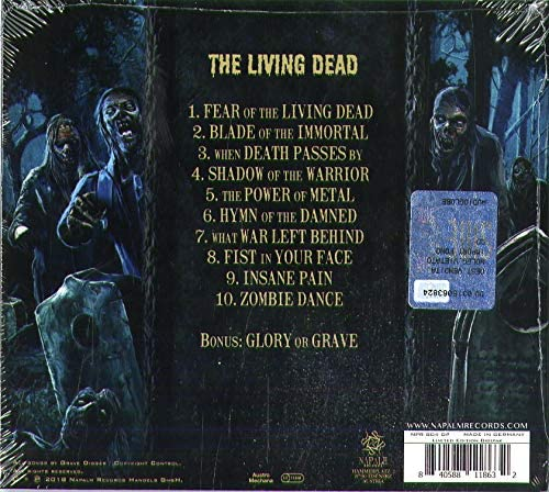 Grave Digger/The Living Dead [CD]