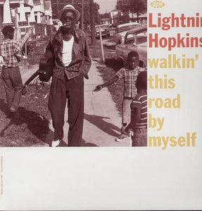 Lightnin' Hopkins/Walkin' This Road By Myself [LP]