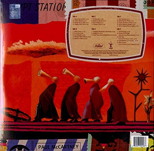 McCartney, Paul/Egypt Station (Limited Explorer's Edition 3LP) [LP]