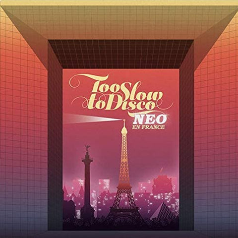 Various Artists/Too Slow to Disco Neo: The Sunset Manifesto (Yellow/Blue Vinyl) [LP]