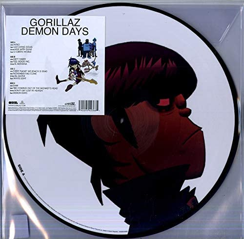 Gorillaz/Demon Days (Picture Disc) [LP]