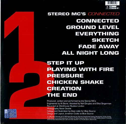 Stereo MC's/Connected [LP]