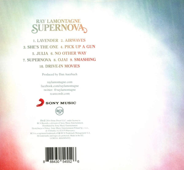 LaMontagne, Ray/Supernova [CD]