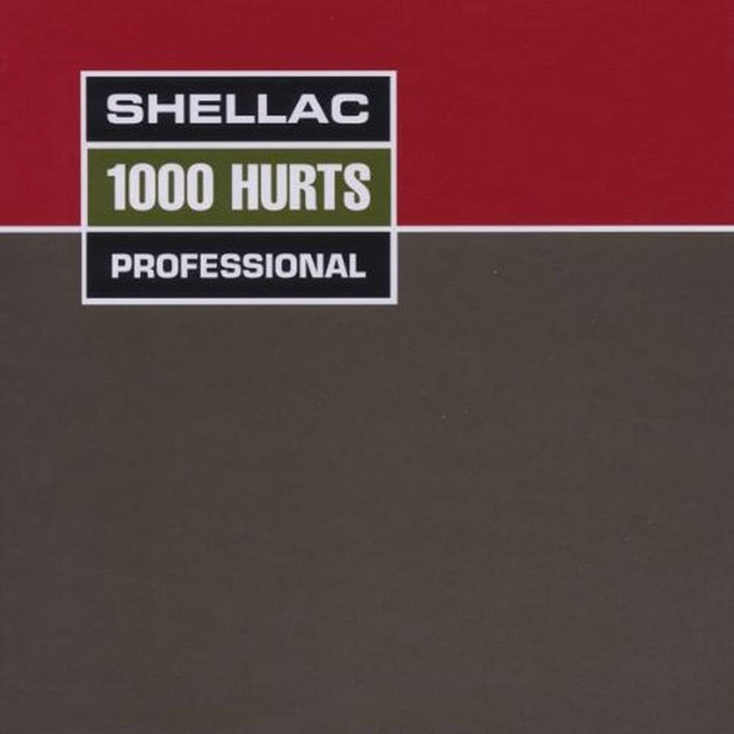 Shellac/800 Hurts [LP]