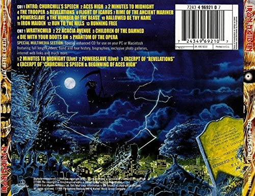 Iron Maiden/Live After Death [CD]