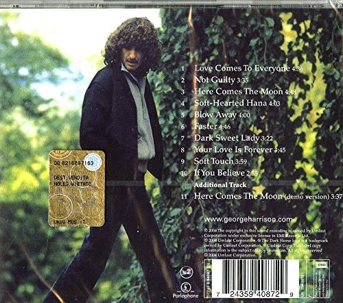 Harrison, George/George Harrison [CD]