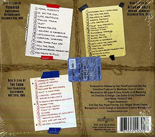 Dead Kennedys/40 (3CD) [CD]