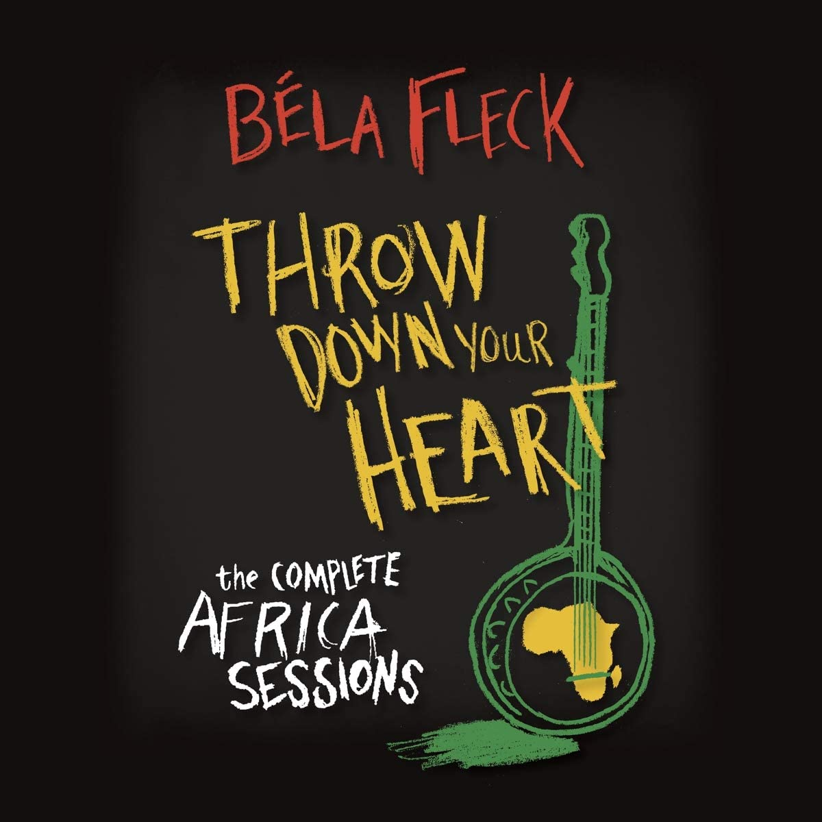 Fleck, Bela/Throw Down Your Heart (3CD/DVD) [CD with DVD]