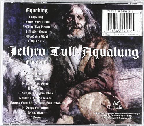 Jethro Tull/Aqualung [CD]