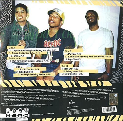 N.E.R.D./In Search of [LP]