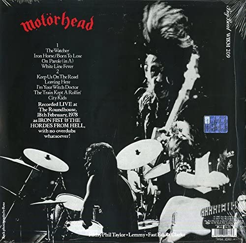 Motorhead/What's Words Worth [LP]
