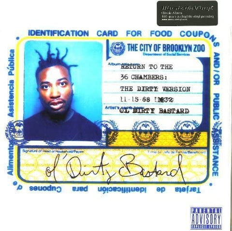 Ol' Dirty Bastard/Return to the 36 Chambers (Audiophile Pressing) [LP]