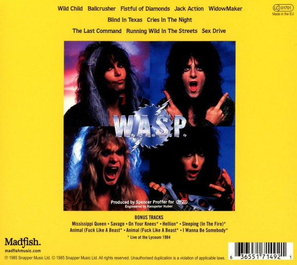 W.A.S.P/The Last Command [CD]