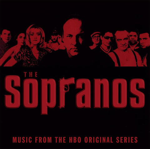 Soundtrack/Sopranos (Transparent Red with Black Swirls) (2LP) [LP]