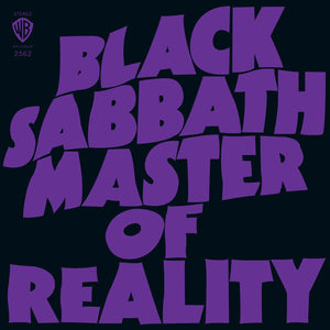 Black Sabbath/Master of Reality [LP]