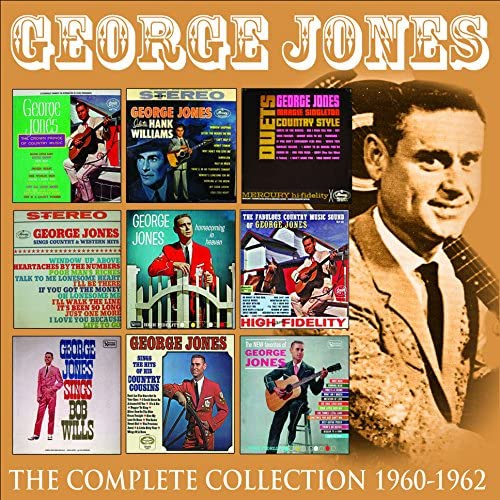 Jones, George/The Complete Albums Collection 1960 - 1962 [CD]