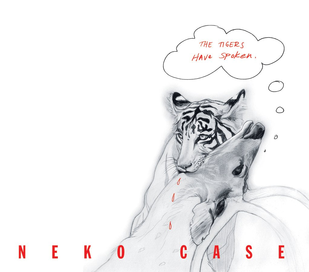 Case, Neko/The Tigers Have Spoken (Trans Red Vinyl) [LP]