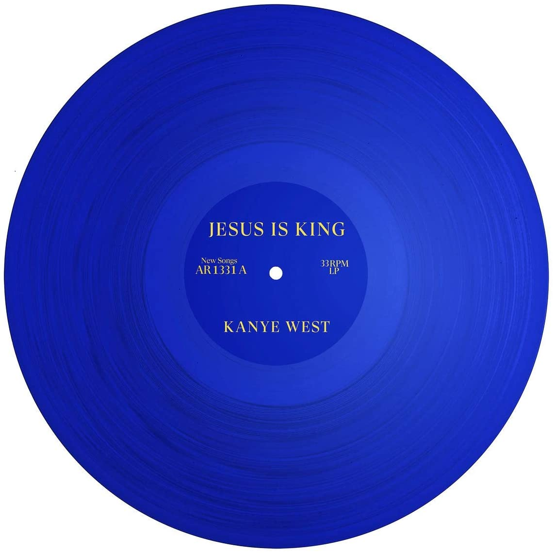 West, Kanye/Jesus Is King (Blue Vinyl) [LP]