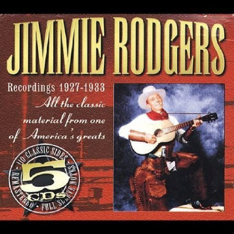 Rodgers, Jimmie/1927-1933 (5 CD Box) [CD]