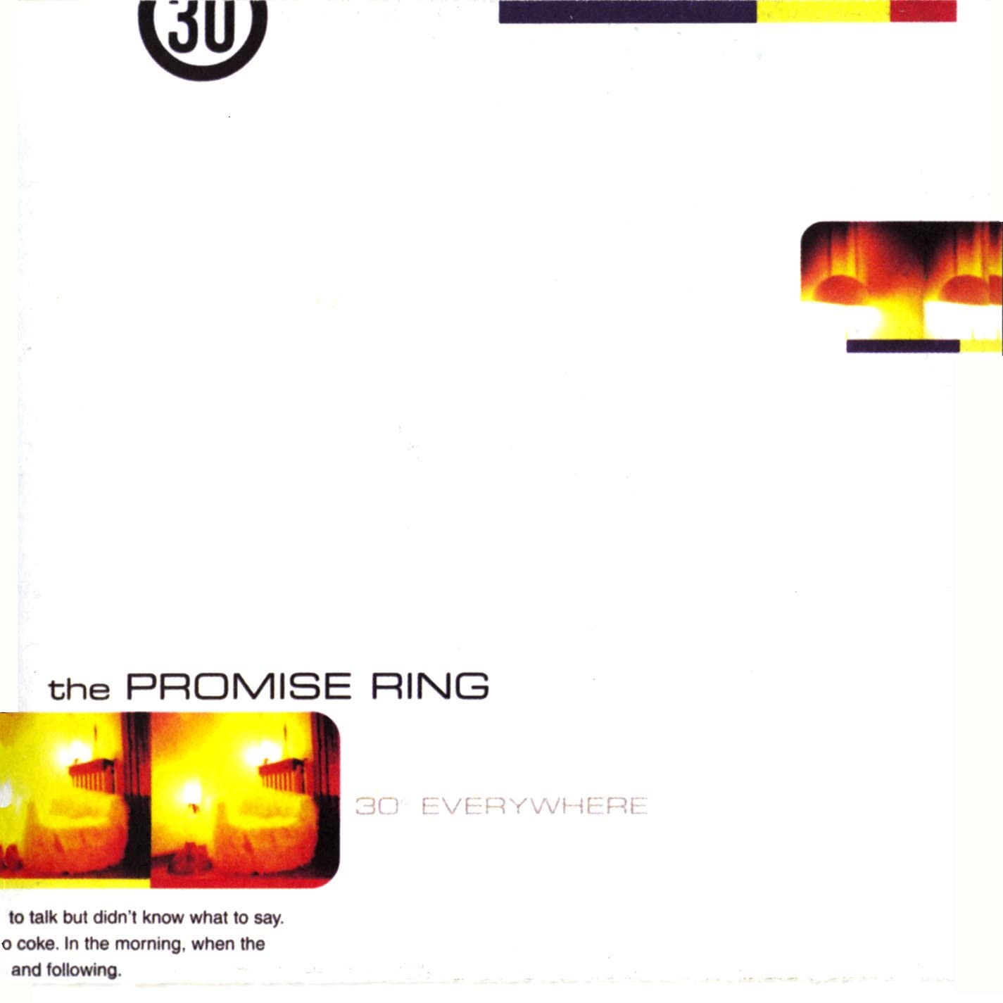 Promise Ring, The/30 Degrees Everywhere [LP]