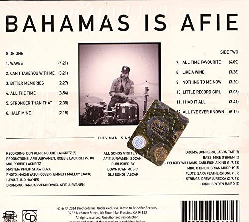 Bahamas/Bahamas Is Afie [CD]