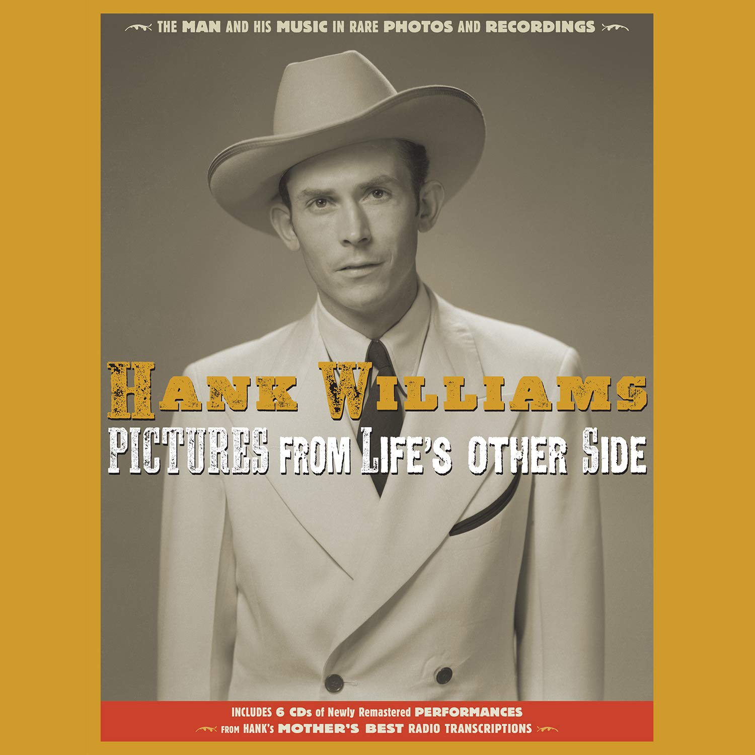 Williams, Hank/Pictures From Life's Other Side (6CD/Book) [CD]