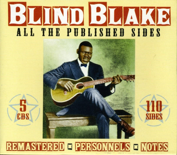 Blind Blake/All the Published Sides (5 CD Box) [CD]