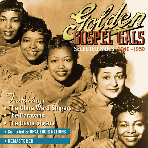 Golden Gospel Gals/Selected Sides 1949 - 1959 4CD [CD]