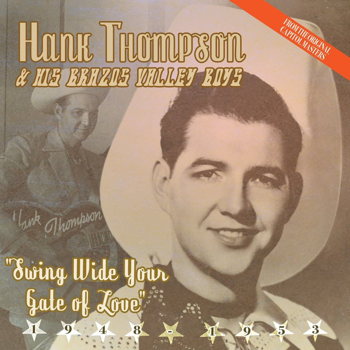 Thompson, Hank/Swing Wide You Gate Of Love [CD]
