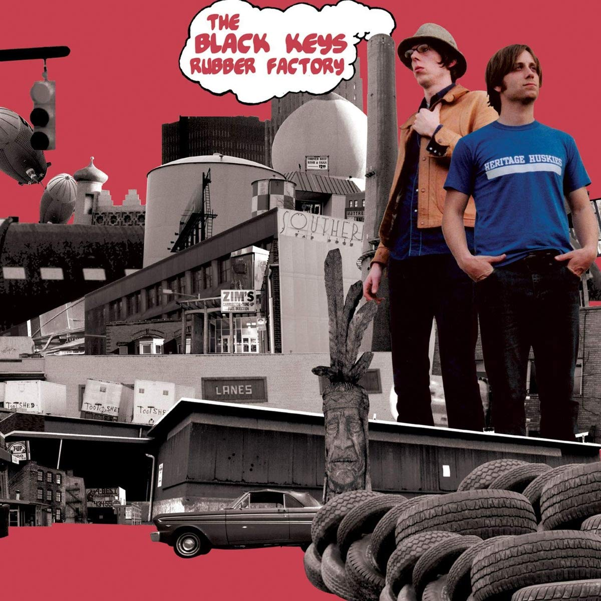 Black Keys, The/Rubber Factory [LP]