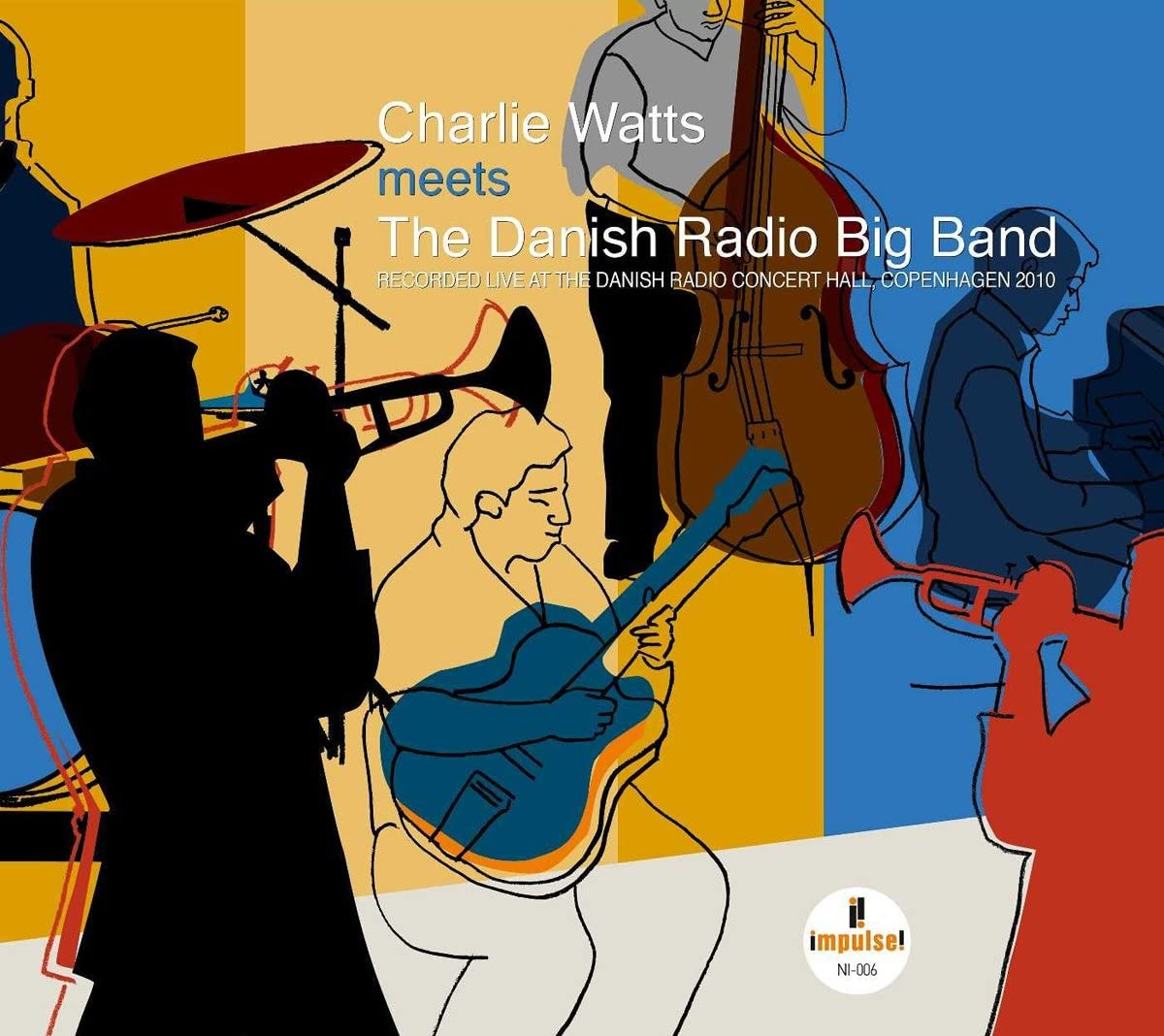 Watts, Charlie & The Danish Radio Big Band/Recorded Live At The Danish Radio Con [LP]