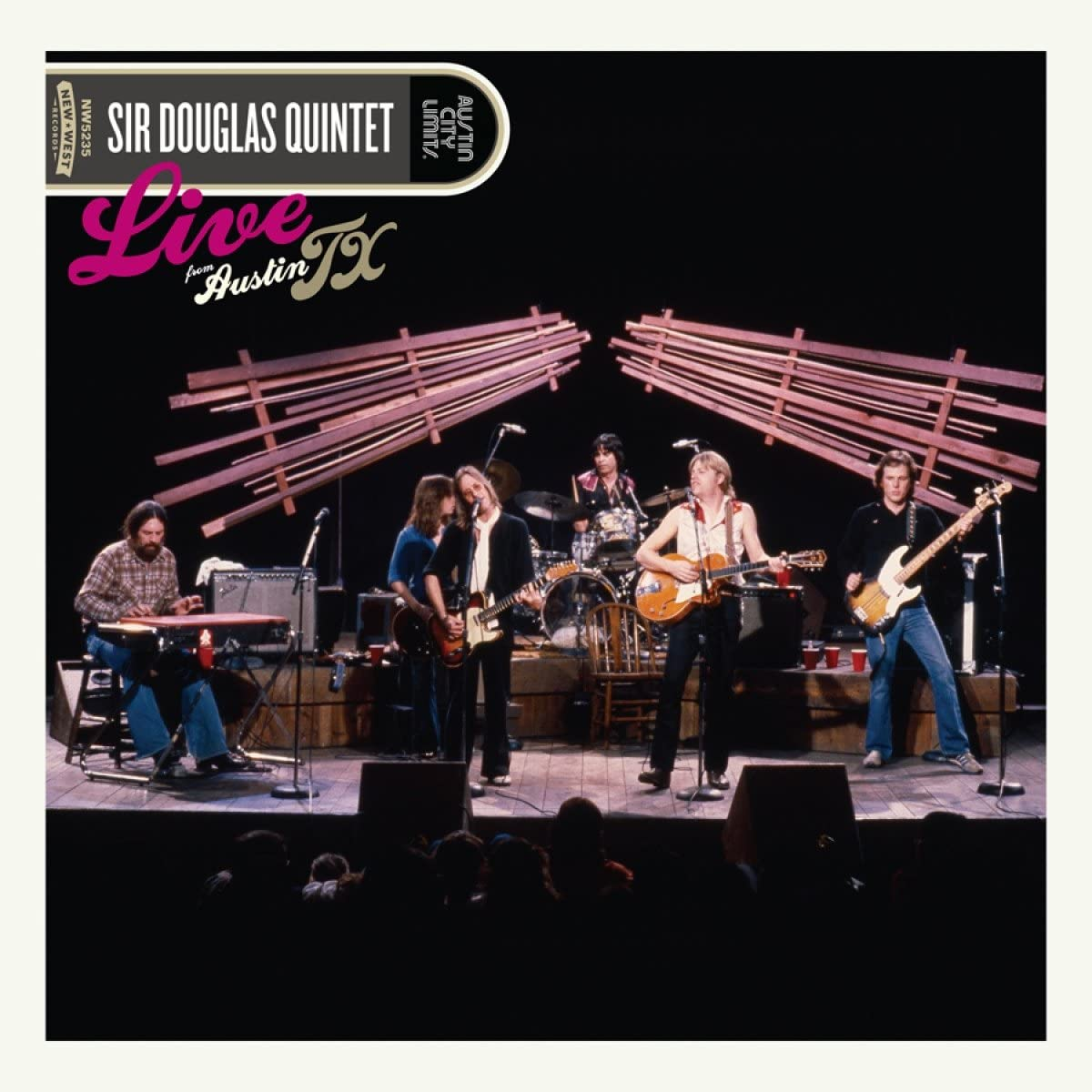 Sir Douglas Quintet/Live From Austin, TX [LP]