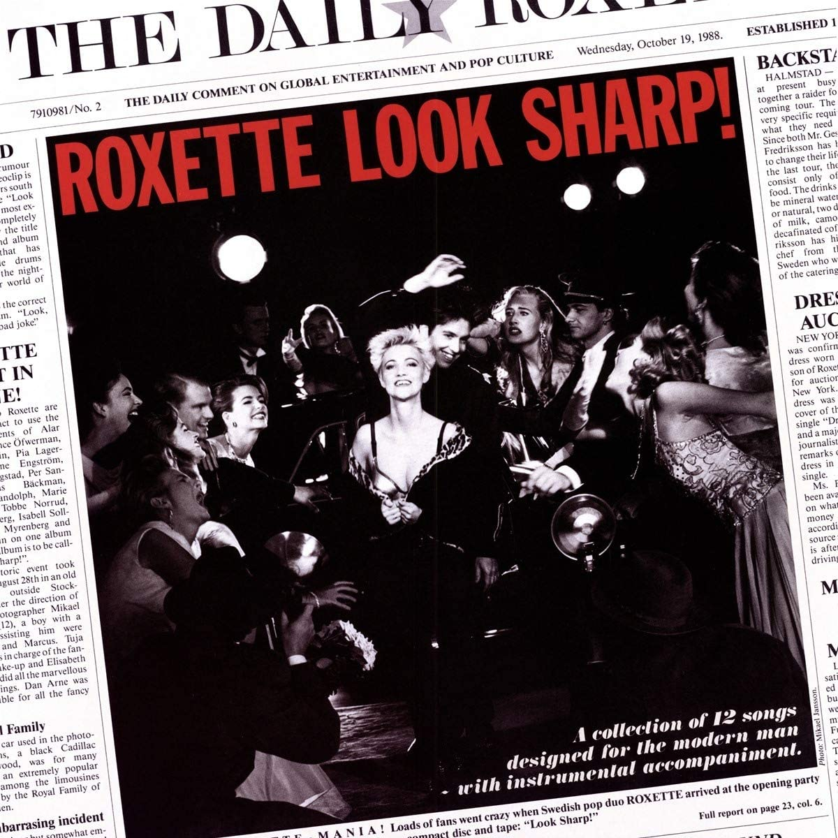 Roxette/Look Sharp! (Red Vinyl) [LP]