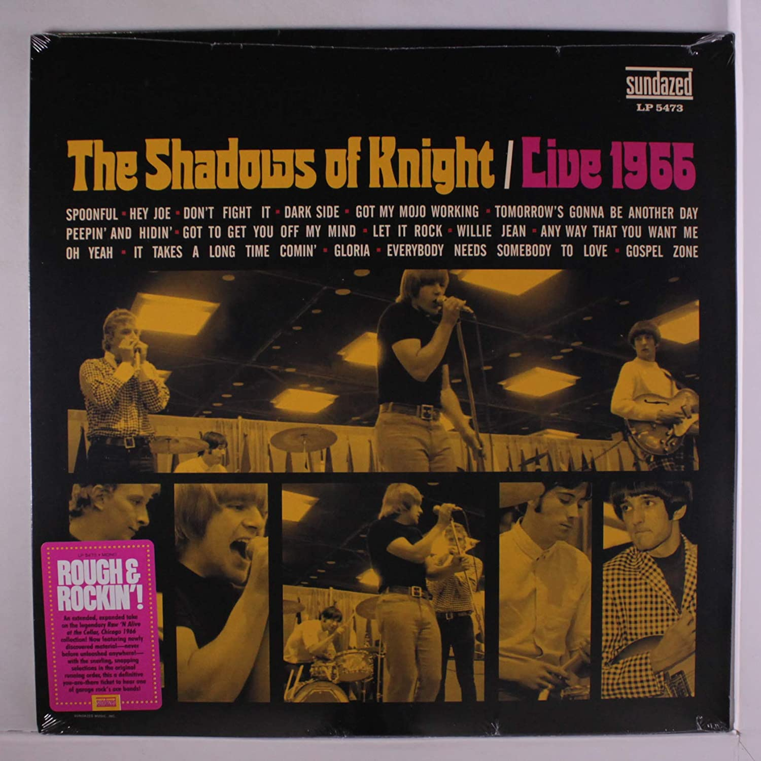 Shadows of Knight, The/Live 1966 [LP]