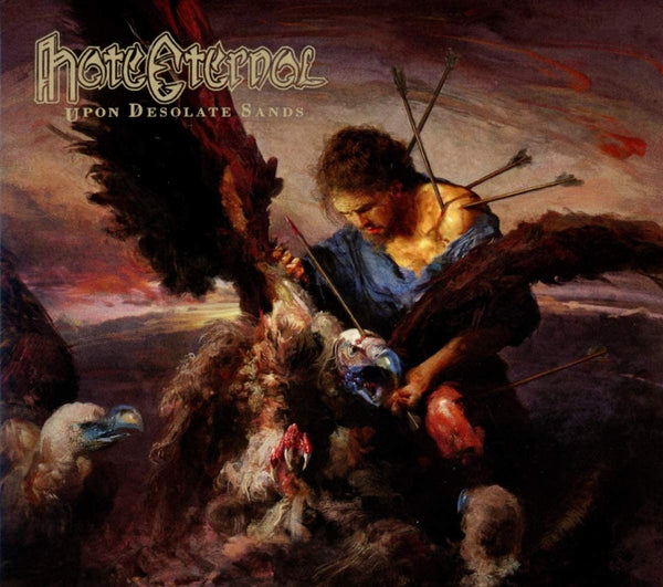 Hate Eternal/Upon Desolate Sands [CD]