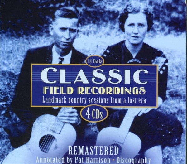 Classic Field Recordings/Landmark Country Sessions From A Lost Era 4CD [CD]