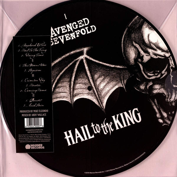 Avenged Sevenfold/Hail to the King (Picture Disc) (2LP) [LP]