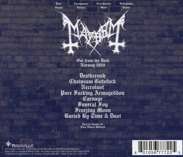 Mayhem/Out From The Dark [CD]