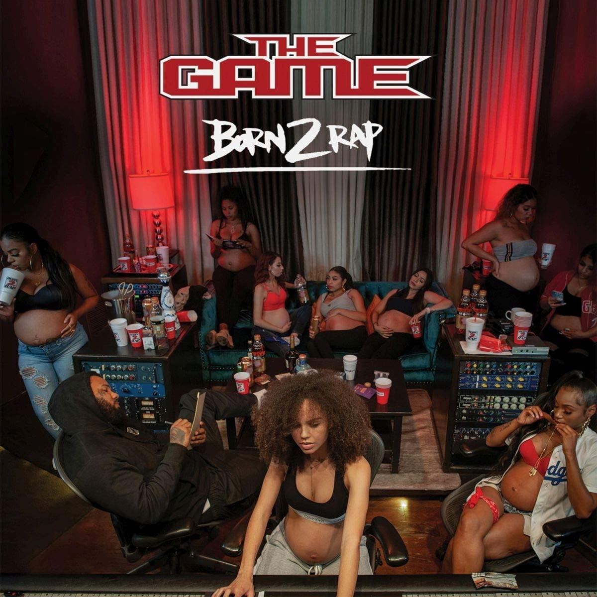 Game, The/Born 2 Rap [CD]