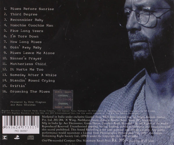 Clapton, Eric/From The Cradle (2LP) [LP]